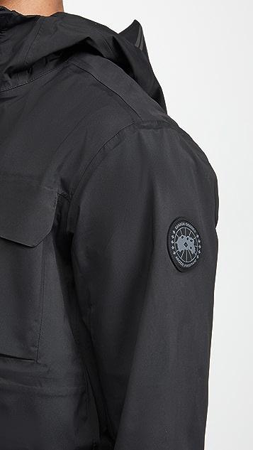 Canada Goose Wascana Rain Jacket Black Label