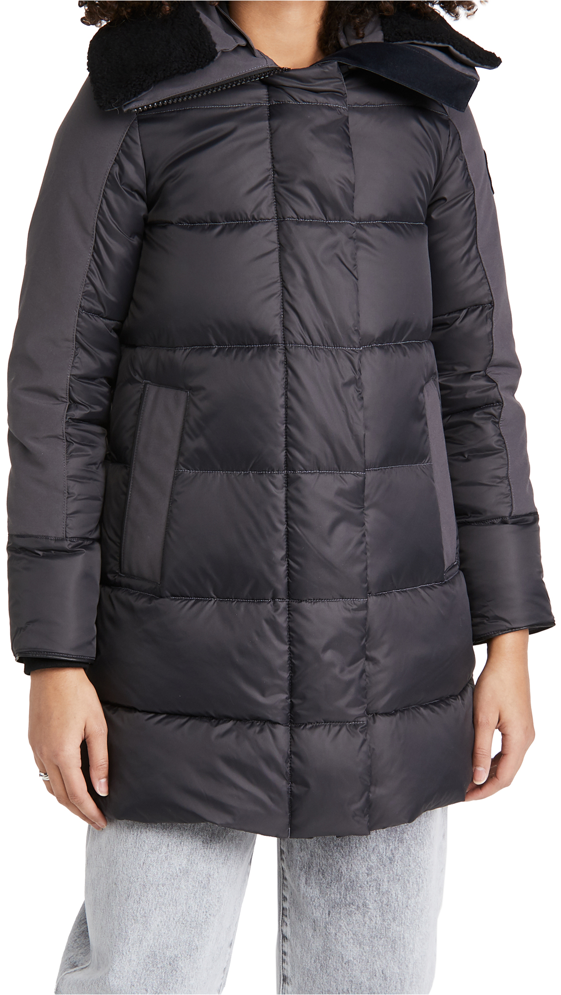 Canada Goose Ladies Altona Parka Black Label