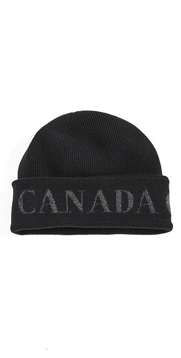 Canada Goose Arctic Toque Disc Cashmere Hat