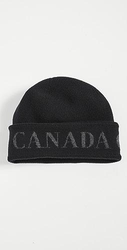 Canada Goose - Arctic Toque Disc Cashmere Hat