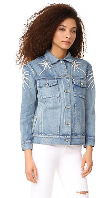 Capulet Embroidered Denim Jacket
