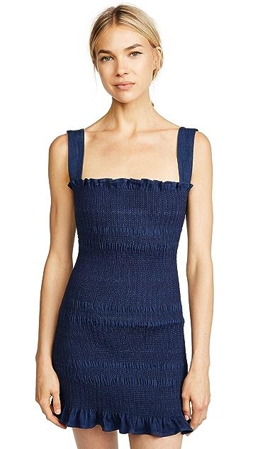 Capulet Viviane Smocked Mini Dress