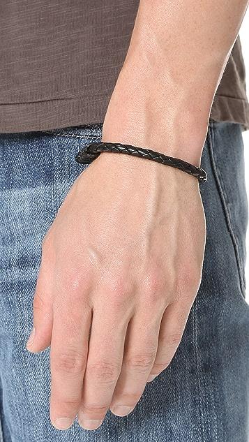 Caputo & Co. Antique Braided Bracelet