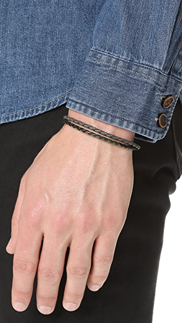Caputo & Co. Braided Bracelet