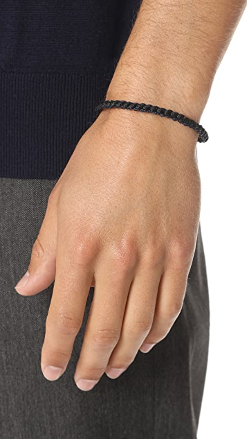 Caputo & Co. Nylon Braided Bracelet