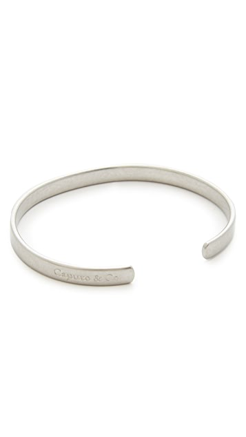 Caputo & Co. Clean Metal Cuff