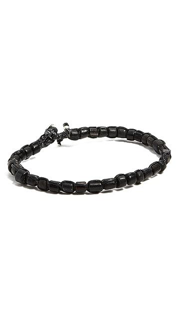 Caputo & Co. Solid Glass Bead Bracelet