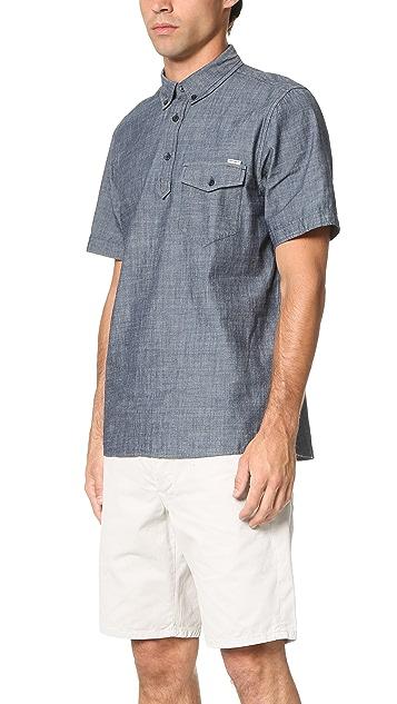 Carhartt WIP Edison Rinsed Short Sleeve Shirt