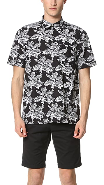 Carhartt WIP Ron Ghetto Palm Short Sleeve Shirt