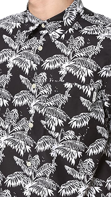 Carhartt WIP Ron Ghetto Palm Short Sleeve Shirt
