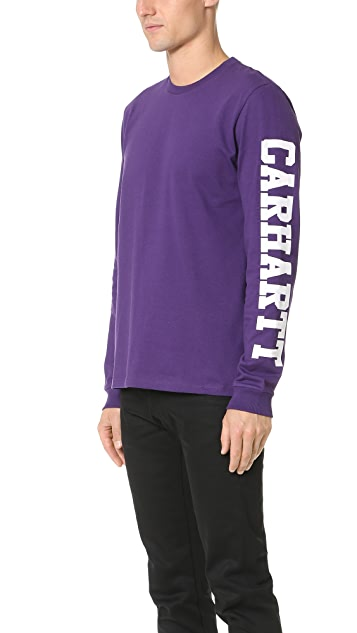 Carhartt WIP Long Sleeve College Tee