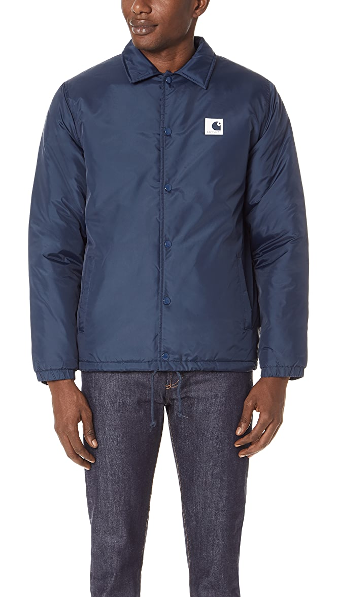 best authentic best authentic coupon codes Carhartt WIP Sports Pile Coach Jacket | EASTDANE SAVE UP TO ...