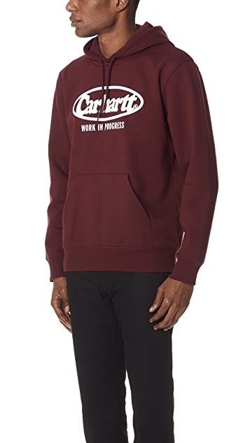 Carhartt WIP Hooded Oval Sweatshirt