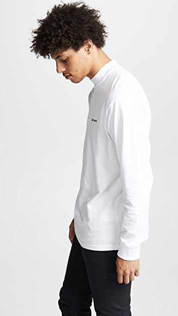 Carhartt WIP Long Sleeve Script Embroidery T-Shirt