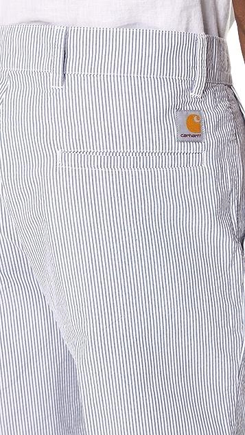 Carhartt WIP Seersucker Shorts