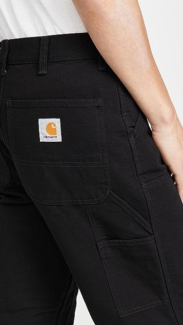 Carhartt WIP Double Knee Canvas Work Pants