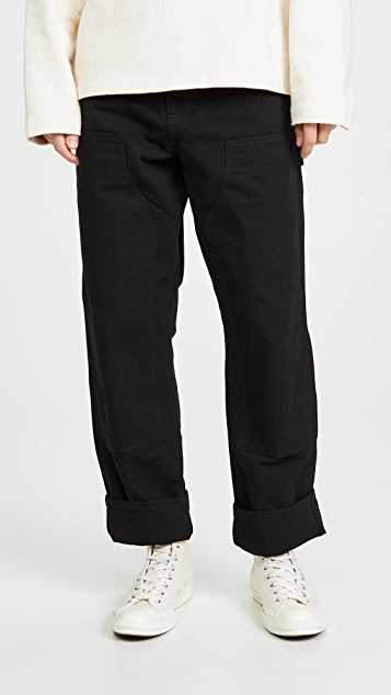 Carhartt WIP Double Knee Canvas Work Pants