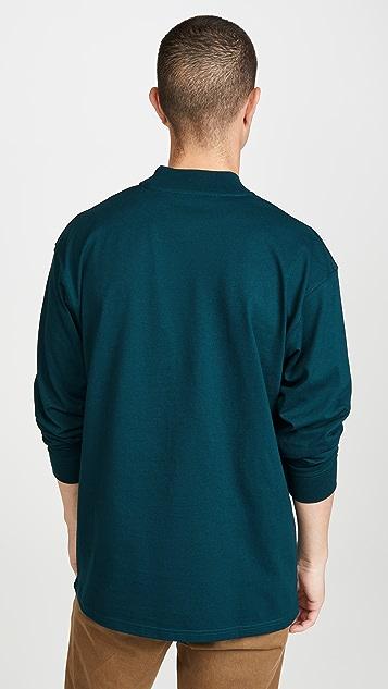 Carhartt WIP Long Sleeve Embroidery Tee