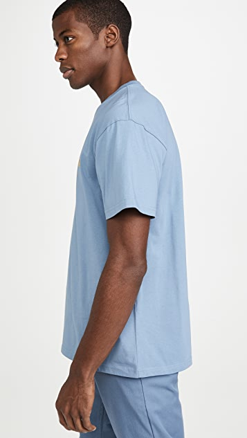 Carhartt WIP Loose Fit Short Sleeve Chase Tee