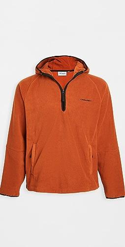 Carhartt WIP - Hooded Beaumont Half Zip Sweatshirt