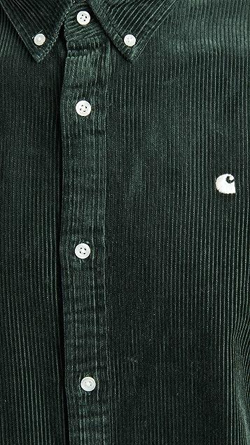 Carhartt WIP Long Sleeve Madison Cord Shirt