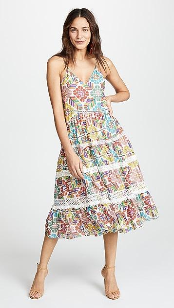 Carolina K Marieta Midi Dress