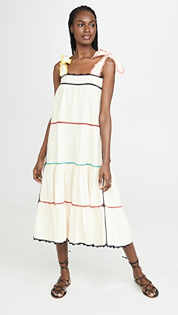 Carolina K Ажурное платье Iris