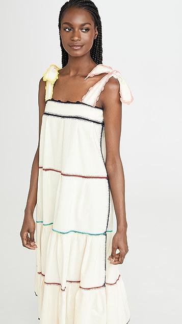 Carolina K Iris Crochet Dress