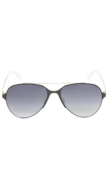 Carrera Lightweight Aviator Sunglasses