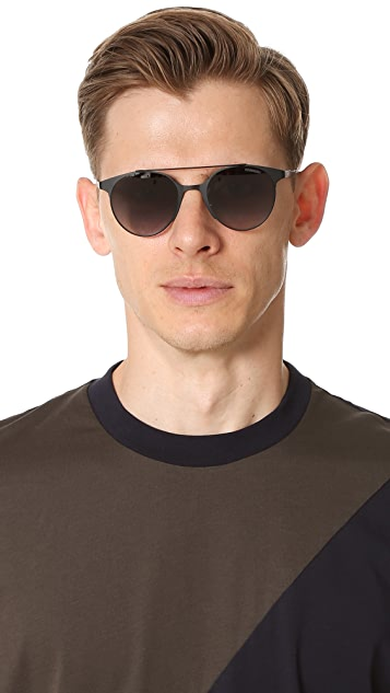 Carrera Lightweight Round Sunglasses