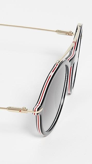 Carrera Круглые солнцезащитные очки «авиаторы»