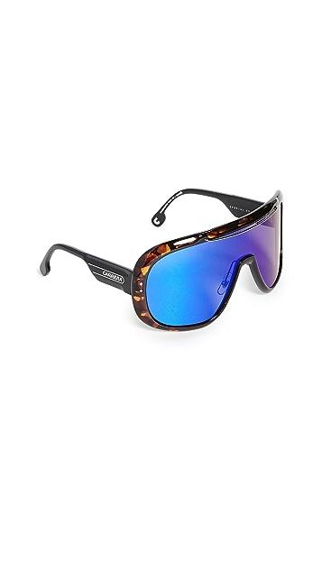 Carrera 运动风格盾牌太阳镜