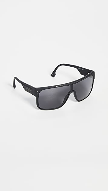 Carrera Flat Top Shield Sunglasses