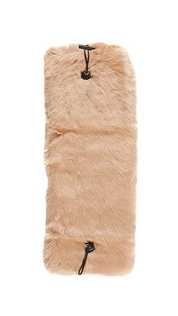 Carven Faux Fur Scarf
