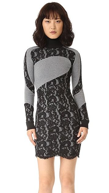 Carven Fleece Dress