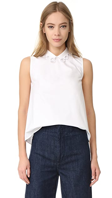 Carven Sleeveless Top