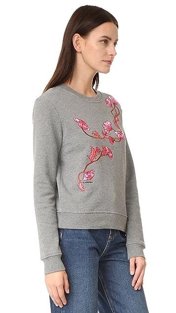 Carven Embroidered Sweatshirt