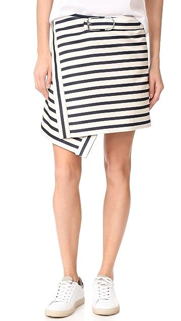 Carven Striped Skirt