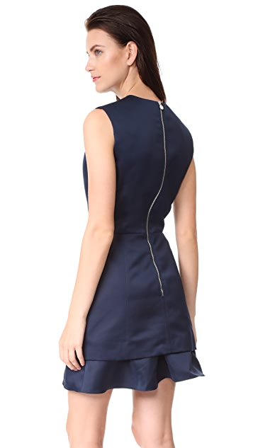 Carven Satin Dress