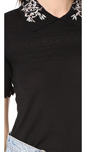 Carven Short Sleeve Pullover