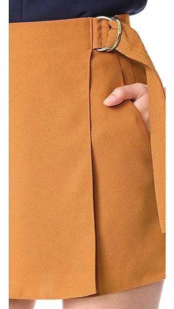 Carven Draped Shorts