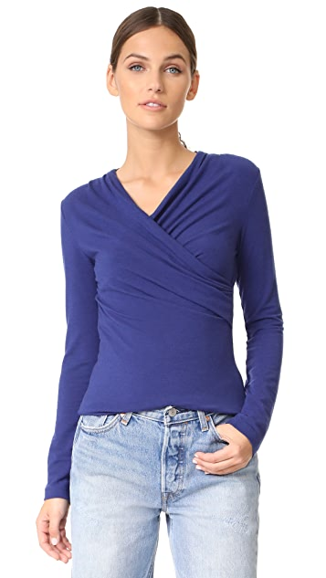 Carven Long Sleeve T-Shirt