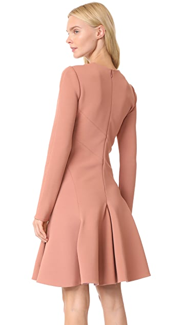 Carven Flounce Dress