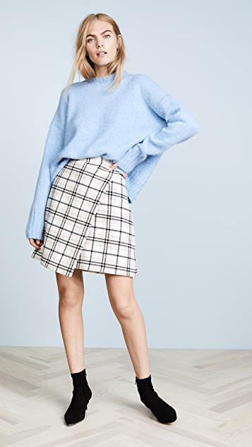 Carven Asymmetrical Skirt