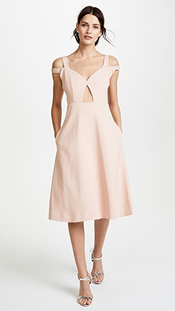 Carven Cold Shoulder Dress