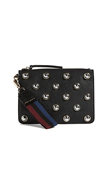 Carven Studded Coin Purse