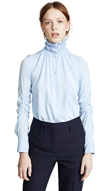 Carven Collared Button Down Shirt