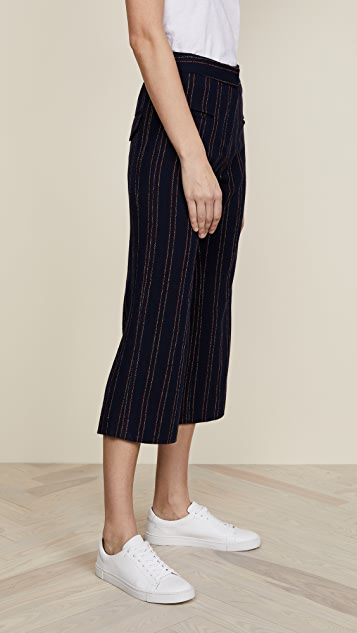 Carven Pinstripe Pants