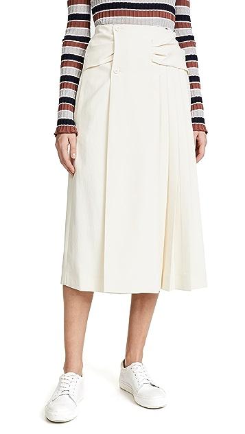 Carven Pleated Skirt