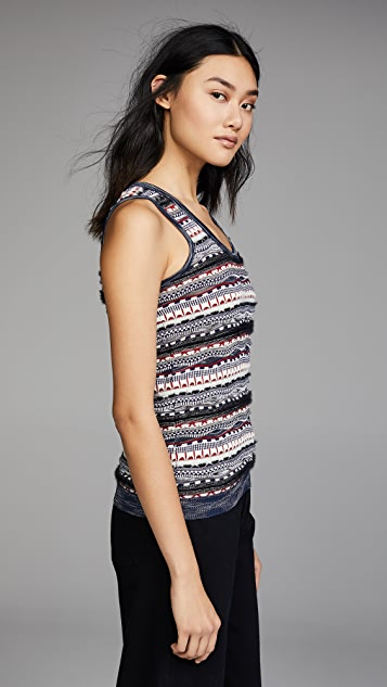 Carven Knit Sweater Tank